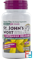 Herbal Actives, St. John's Wort, Nature's Plus, 450 mg, 60 Tablets