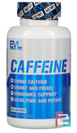 Caffeine, EVLution Nutrition, 200 mg, 100 Tablets