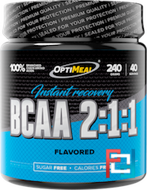 BCAA 2:1:1 instant recovery, OptiMeal, 240 g