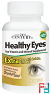 Healthy Eyes Extra, 21st Century, 50 Tablets