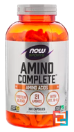 Amino Complete, Now Foods, 360 Capsules