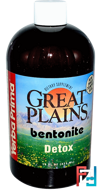Great Plains, Bentonite, Detox, Yerba Prima, 16 fl oz (473 ml)