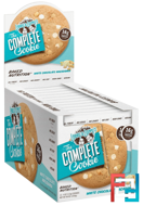 The Complete Cookie, White Chocolaty Macadamia, Lenny & Larry's, 12 Cookies, 4 oz (113 g) Each