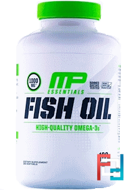 Fish Oil, Essentials, MusclePharm, 180 Softgels