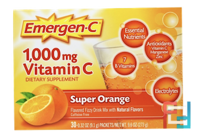 1000 mg Vitamin C, Emergen-C, 30 packets, 282 g