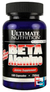 Beta Alanine, Ultimate Nutrition, 750 g