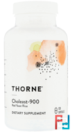 Choleast-900, Thorne Research, 120 Capsules
